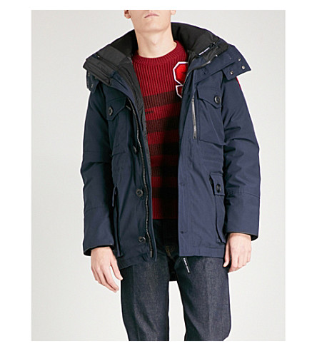 CANADA GOOSE Drummond 3-in-1 shell parka (Admiral+blue