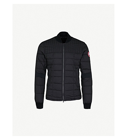 CANADA GOOSE Dunham shell-down bomber jacket (Black