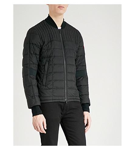 CANADA GOOSE Dunham shell-down bomber jacket (Black