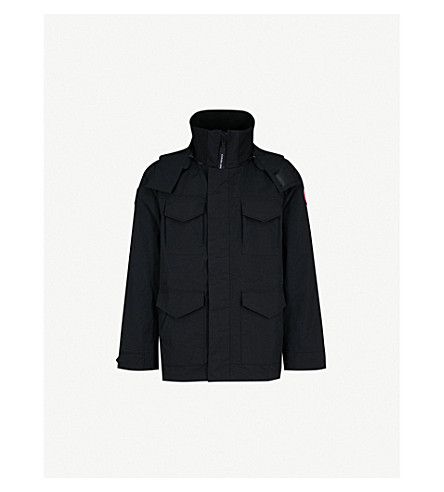 CANADA GOOSE Voyager hooded shell jacket (Black