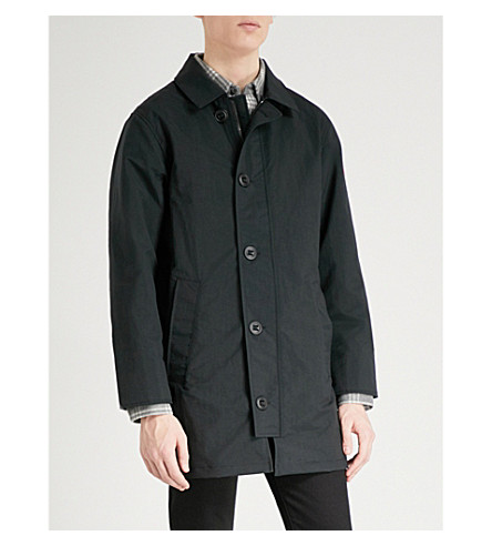 CANADA GOOSE Wainwright shell coat (Black