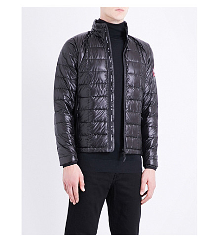 CANADA GOOSE Hybridge Lite quilted shell down jacket (Black/graphte