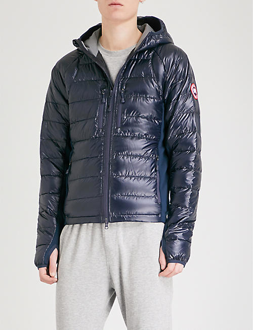 canada goose black mens coat