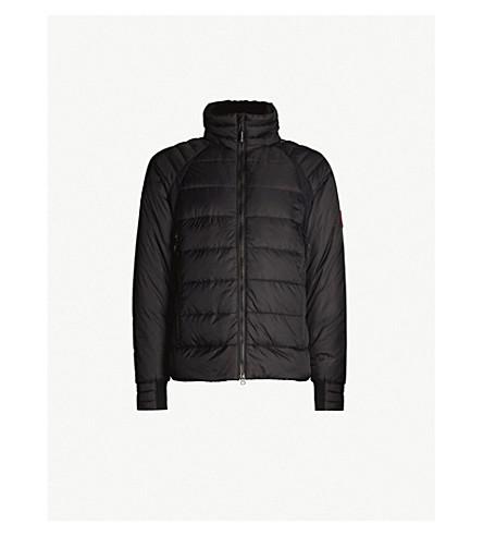 CANADA GOOSE HyBridge Base padded shell-down jacket (Black
