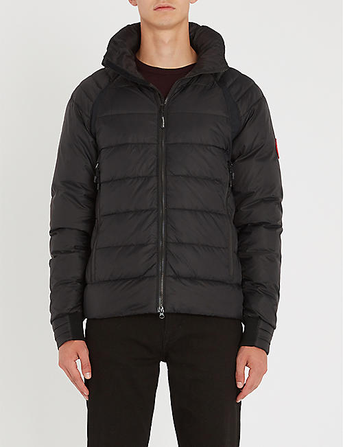 CANADA GOOSE HyBridge Base padded shell-down jacket