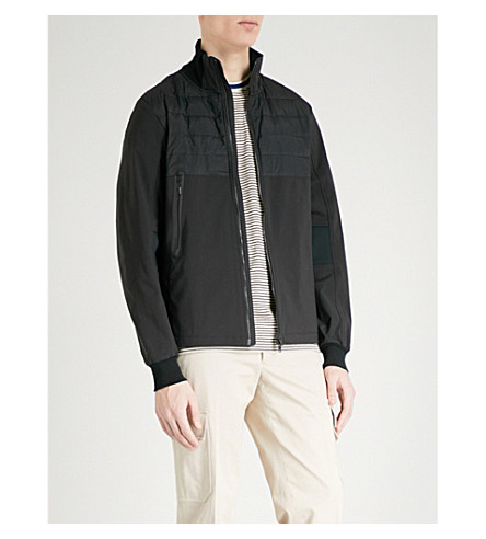 CANADA GOOSE Jericho shell-down bomber jacket (Black