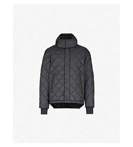 CANADA GOOSE Hendriksen 绗缝外套 (黑 + + 黑色