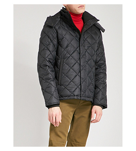 CANADA GOOSE Hendriksen quilted shell-down coat (Black+-+noir
