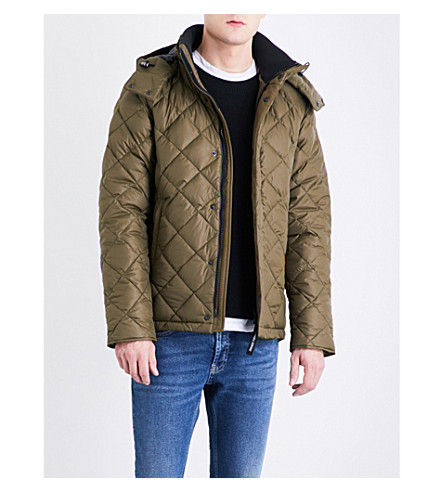 CANADA GOOSE Hendriksen quilted shell-down coat (Military green