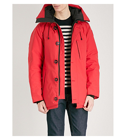 CANADA GOOSE Chateau quilted parka (Red rouge