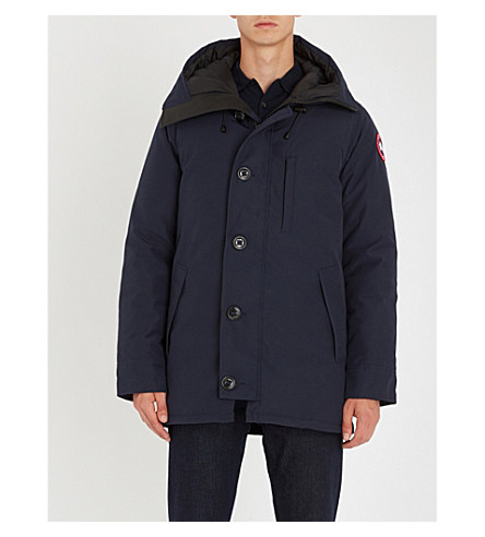 CANADA GOOSE Chateau quilted parka (Admiral+blue