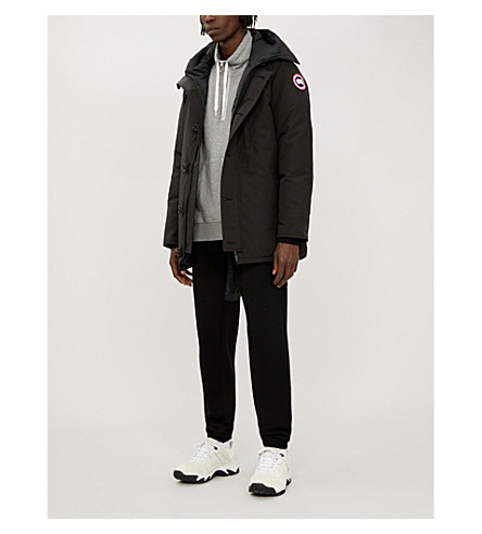 CANADA GOOSE Chateau quilted parka (Black