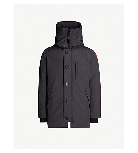 CANADA GOOSE Chateau shell-down parka (Navy