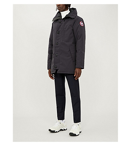 CANADA GOOSE Chateau quilted parka (Navy