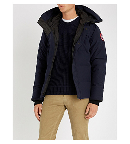 CANADA GOOSE Macmillan quilted parka (Admiral+blue