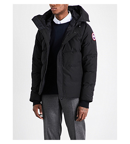 CANADA GOOSE Macmillan quilted parka (Black