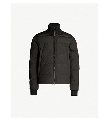 CANADA GOOSE Woolford padded coat (Black