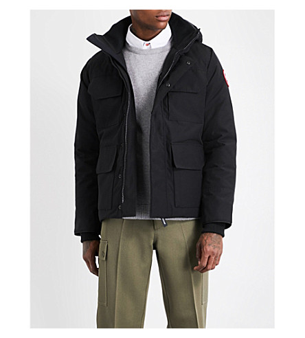 CANADA GOOSE Maitland hooded shell parka jacket (Black