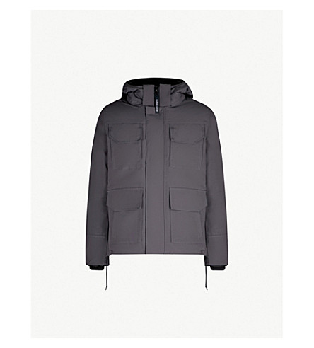 CANADA GOOSE Maitland hooded shell parka jacket (Graphite