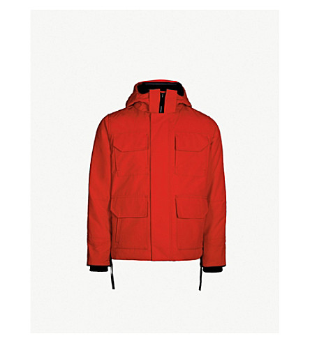 CANADA GOOSE Maitland hooded shell parka jacket (Red - rouge