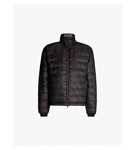 CANADA GOOSE Lodge quilted shell jacket (S:black/l:black