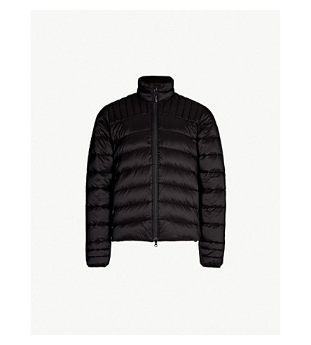 CANADA GOOSE Brookvale quilted shell-down jacket (Black
