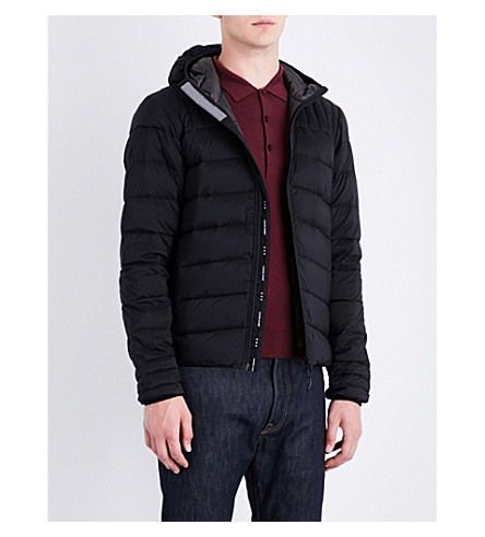 CANADA GOOSE Brookvale quilted shell jacket (S:black/l:graphte