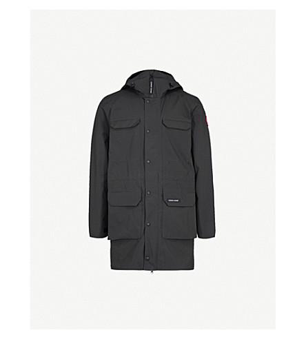 CANADA GOOSE Harbour adjustable shell jacket (Black+black