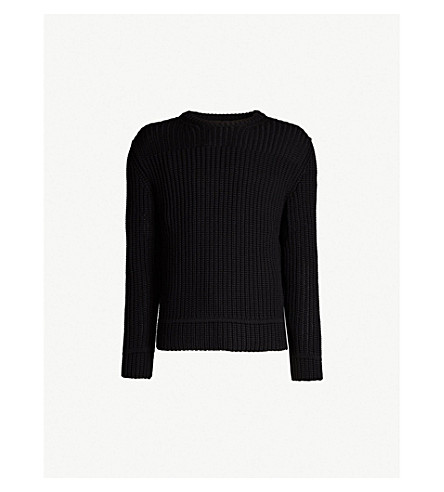 CANADA GOOSE Galloway wool jumper (Black