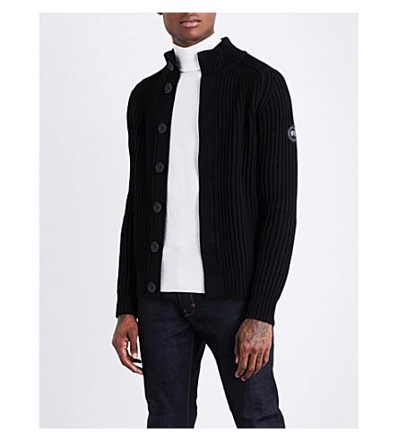 CANADA GOOSE Silvertown wool jumper (Black
