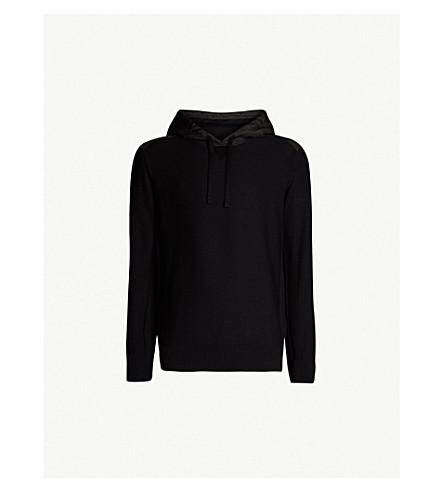 CANADA GOOSE Ashcroft wool hoody (Black