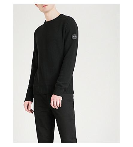 CANADA GOOSE Pemberton wool jumper (Black