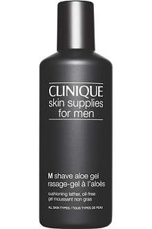 CLINIQUE M Shave Aloe Gel