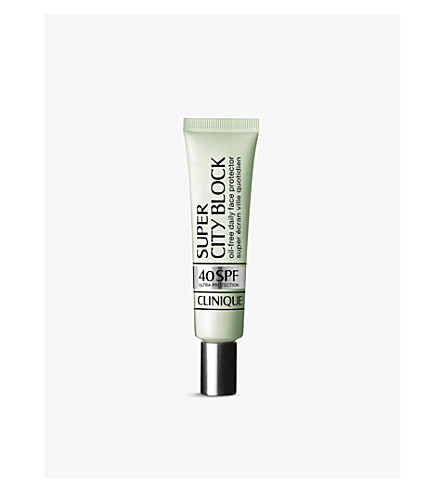 CLINIQUE Super City block SPF 40