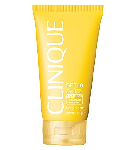 CLINIQUE Body Cream SPF 40