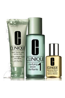 CLINIQUE 3–Step Introduction Kit Skin Type 1