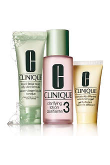 CLINIQUE 3–Step Introduction Kit Skin Type 3