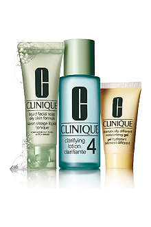 CLINIQUE 3–Step Introduction Kit Skin Type 4