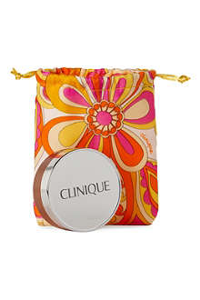 CLINIQUE Superbalanced powder bronzer with mini makeup bag
