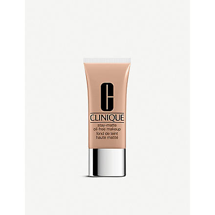 CLINIQUE Stay-Matte Oil-Free foundation (Alabaster