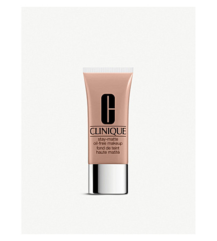 CLINIQUE Stay-Matte Oil-Free foundation (Chamois