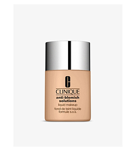 CLINIQUE Anti-Blemish Solutions Liquid Make-Up (01+light+neutral