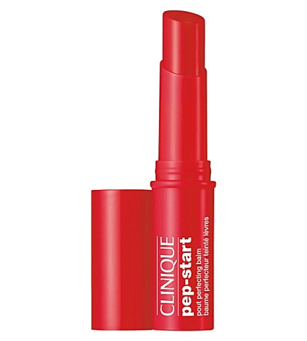 CLINIQUE Pep-Start pout perfecting balm (Cherry