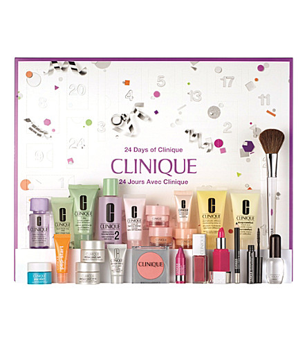 Clinique 24 days of clinique advent calendar for Where is clinique made