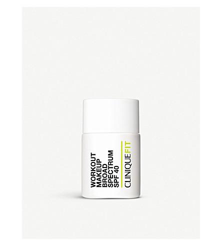 CLINIQUE CliniqueFIT™ Workout Makeup Broad Spectrum SPF 40 30ml (01+light