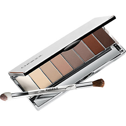 CLINIQUE All About Shadow nude eye shadow palette