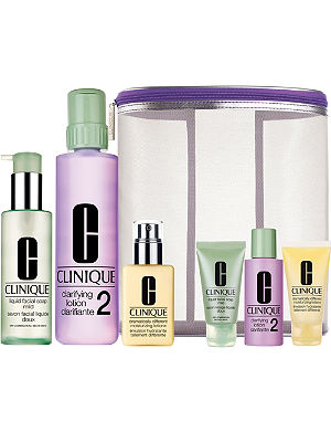 CLINIQUE Great Skin Home & Away Set, Skin Types I & II