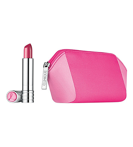 CLINIQUE Breast Cancer Awareness Long Last lipstick (Pink