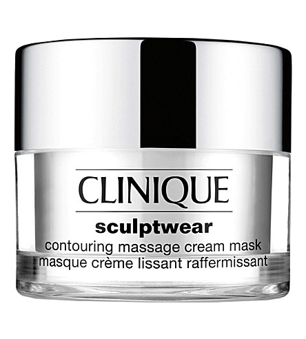 CLINIQUE Sculptwear contouring massage cream mask 50ml