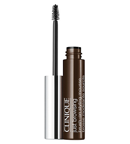 CLINIQUE Just Browsing brush-on styling mousse (Black+brown